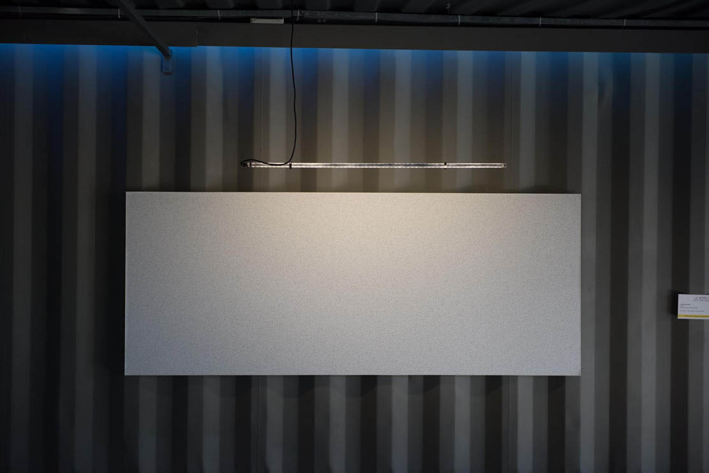Al Fatiha, laminated digital print, algorithm, surat Al-Fatiha, 200cm × 80cm, 2015